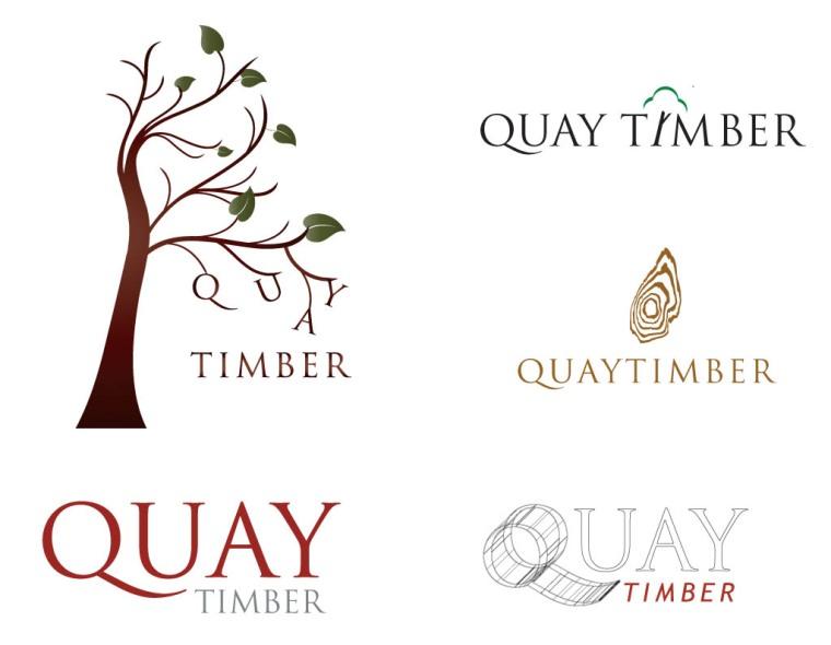 Quay Timber Logos   Just Natalie Design